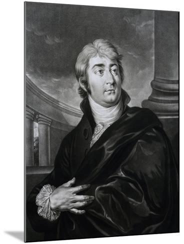 Portrait of Joseph Ferdinand Von Sonnleithner--Mounted Giclee Print