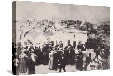 The San Francisco Earthquake, April 18Th, 1906--Stretched Canvas Print