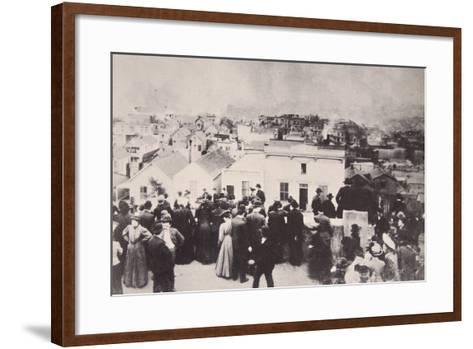 The San Francisco Earthquake, April 18Th, 1906--Framed Art Print