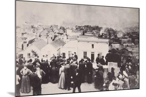 The San Francisco Earthquake, April 18Th, 1906--Mounted Photographic Print