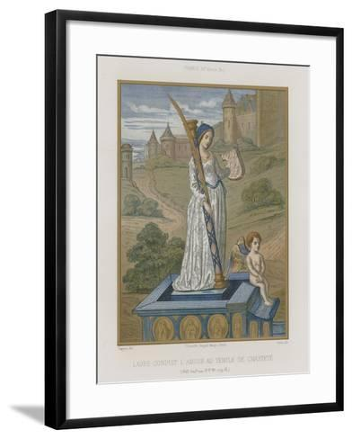 Laura at the Temple of Chastity--Framed Art Print
