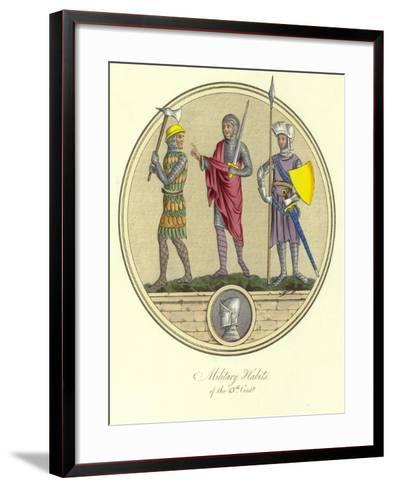 Military Habits of the 13th Century--Framed Art Print