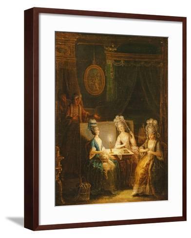 Zémire and Azor, Opera by Marmontel, 1788-Antoine Francois Saint-aubert-Framed Art Print