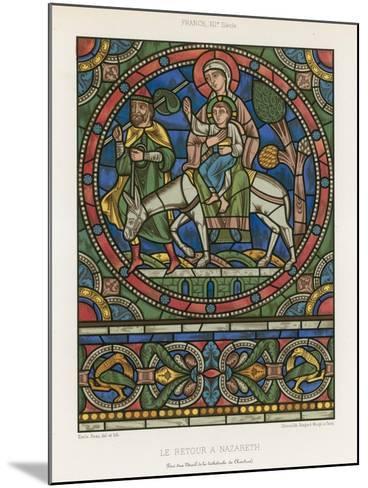 The Return to Nazareth--Mounted Giclee Print