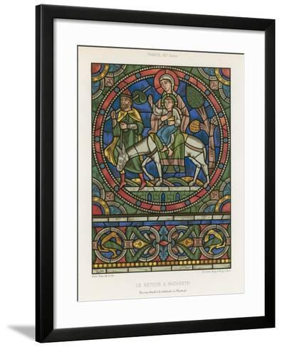 The Return to Nazareth--Framed Art Print