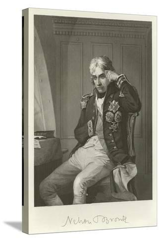 Admiral Lord Nelson--Stretched Canvas Print