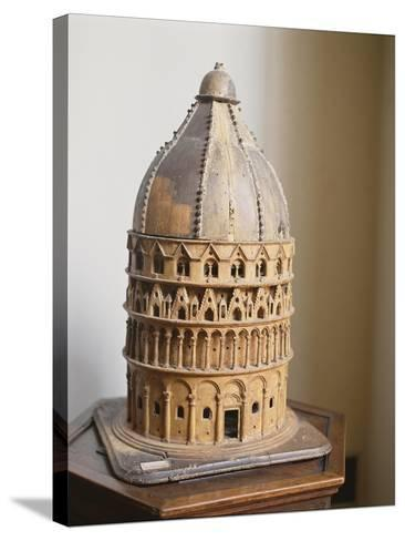 A Model of the Baptistery at Pisa--Stretched Canvas Print
