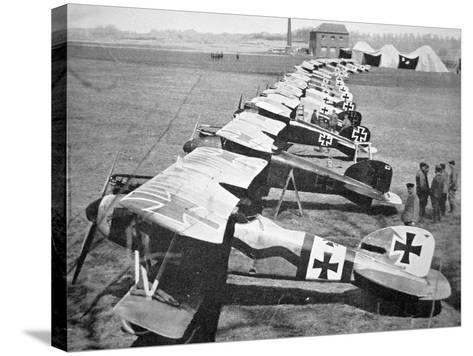 German Aircraft on the Western Front, July 1917--Stretched Canvas Print