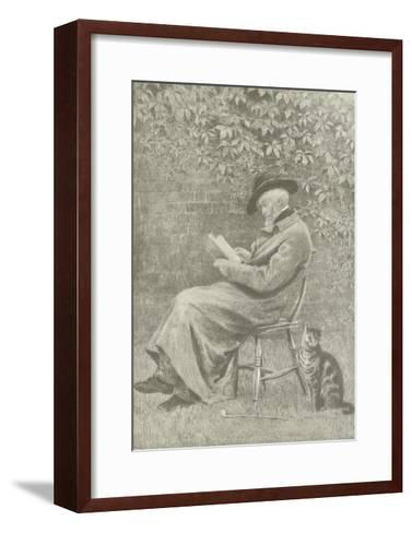 Carlyle at Chelsea-Helen Allingham-Framed Art Print