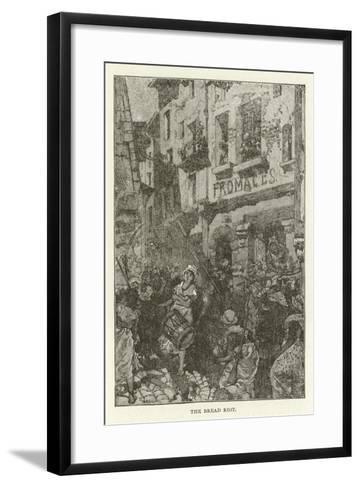 The Bread Riot--Framed Art Print
