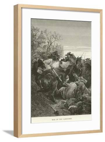 War of the Camisards--Framed Art Print