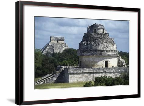 Observatory or El Caracol, Chichen Itza--Framed Art Print