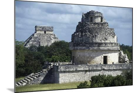 Observatory or El Caracol, Chichen Itza--Mounted Photographic Print