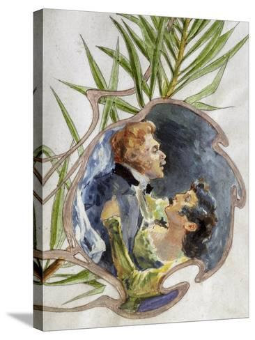 Scene from Tosca, Opera-Giacomo Puccini-Stretched Canvas Print
