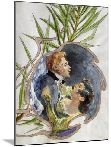 Scene from Tosca, Opera-Giacomo Puccini-Mounted Giclee Print
