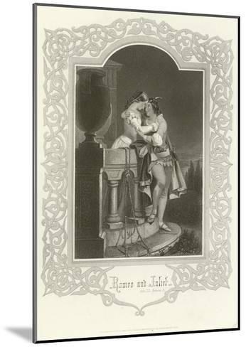 Romeo and Juliet, Act III, Scene V-Joseph Kenny Meadows-Mounted Giclee Print