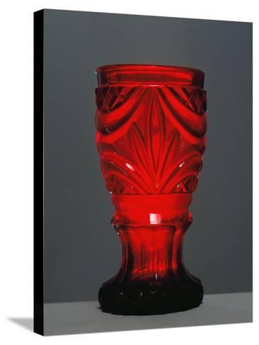 Red Glass by Friedrich Egermann--Stretched Canvas Print