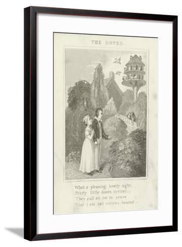 The Doves--Framed Art Print