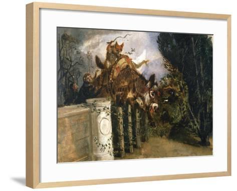 Allegory-Filippo Palizzi-Framed Art Print
