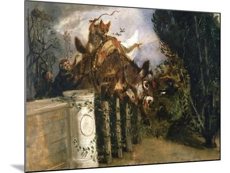 Allegory-Filippo Palizzi-Mounted Giclee Print