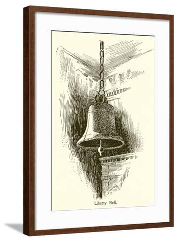 Liberty Bell, Philadelphia--Framed Art Print