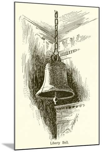 Liberty Bell, Philadelphia--Mounted Giclee Print