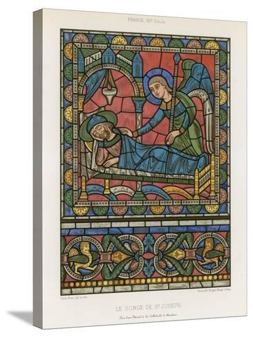 The Dream of Saint Joseph--Stretched Canvas Print