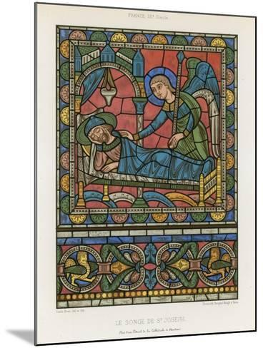 The Dream of Saint Joseph--Mounted Giclee Print