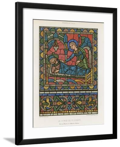 The Dream of Saint Joseph--Framed Art Print