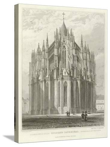 Cologne Cathedral-William Tombleson-Stretched Canvas Print