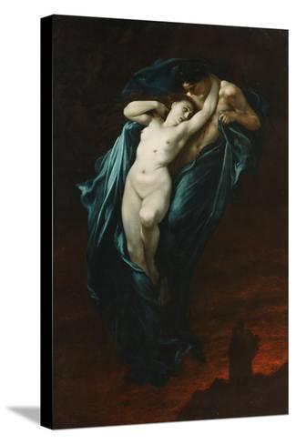 Paolo and Francesca Da Rimini, 1863-Gustave Dor?-Stretched Canvas Print