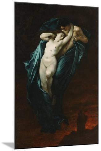 Paolo and Francesca Da Rimini, 1863-Gustave Dor?-Mounted Giclee Print