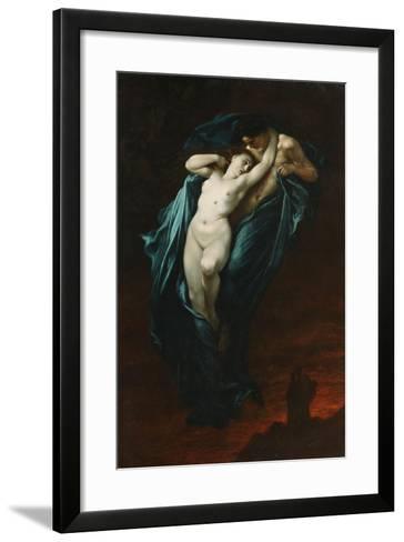 Paolo and Francesca Da Rimini, 1863-Gustave Dor?-Framed Art Print