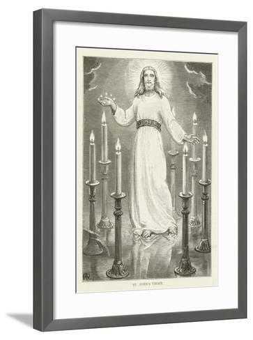 St John's Vision--Framed Art Print
