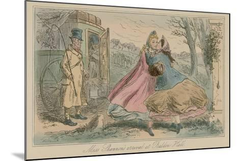 Miss Shannon's Arrival at Baldon Hall-Hablot Knight Browne-Mounted Giclee Print