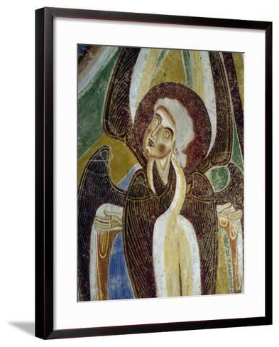Frescoes, Crypt of Monte Maria Abbey, Near Mals--Framed Art Print