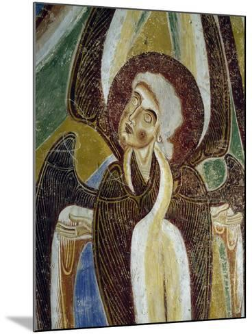 Frescoes, Crypt of Monte Maria Abbey, Near Mals--Mounted Giclee Print