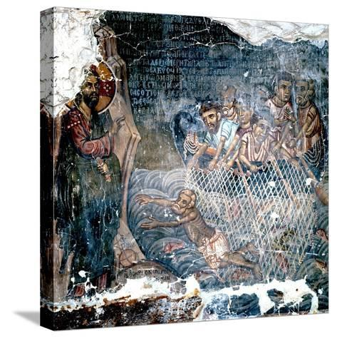 St Peter's Lack of Faith--Stretched Canvas Print