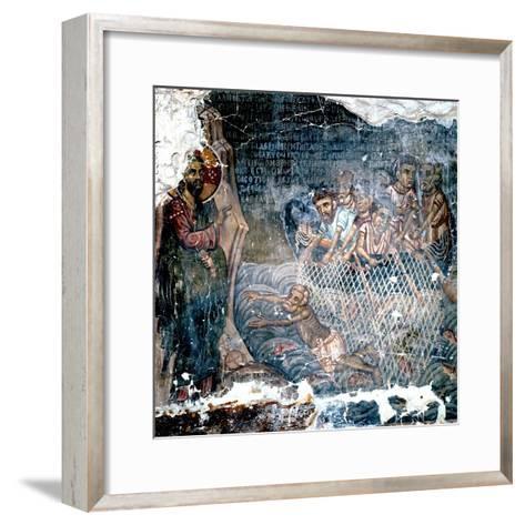 St Peter's Lack of Faith--Framed Art Print
