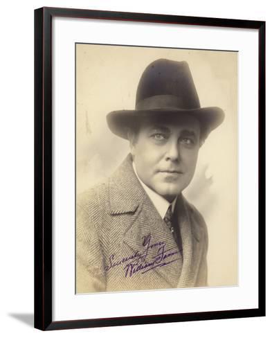 William James--Framed Art Print