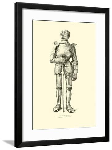 German 'Maximilian' Suit of Armour--Framed Art Print
