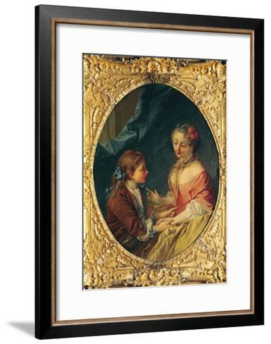 Mother and Child-Francois Boucher-Framed Art Print