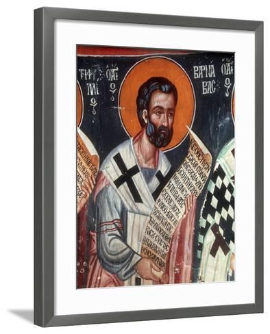 St Barnabas, 1494-Philippos Goul-Framed Art Print