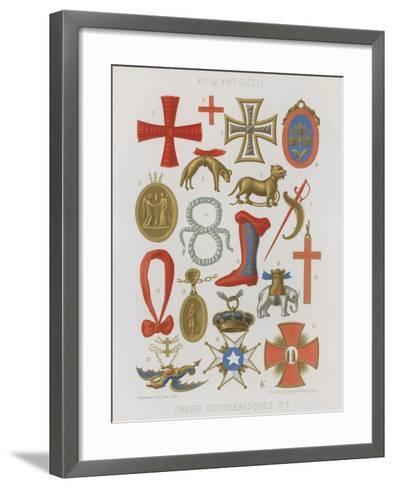 Orders of Knights--Framed Art Print