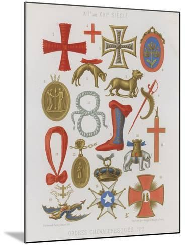 Orders of Knights--Mounted Giclee Print