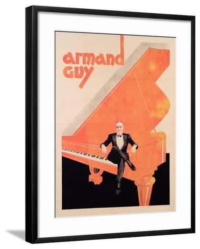 Armand Guy, C.1930--Framed Art Print
