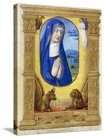 The Virgin Praying, C.1500--Stretched Canvas Print