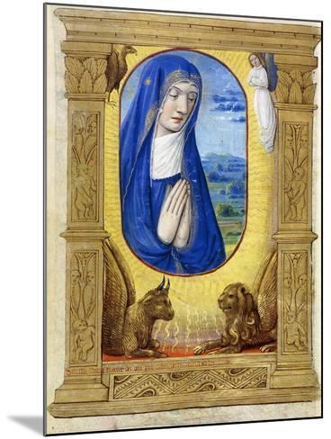 The Virgin Praying, C.1500--Mounted Giclee Print