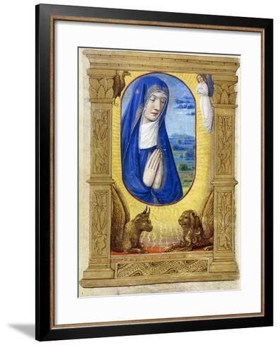 The Virgin Praying, C.1500--Framed Art Print