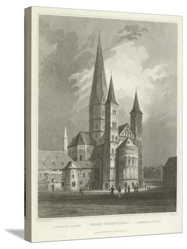 Bonn Cathedral-William Tombleson-Stretched Canvas Print